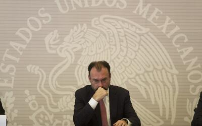 El canciller mexicano Luis Videgaray.