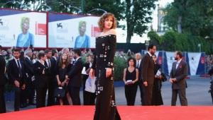 Dakota Johnson en el Festival de Cine de Venecia.