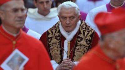 Fue durante el pontificado de Benedicto XVI.