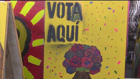 Arte y activismo en Sacramento para que hispanos salgan a votar