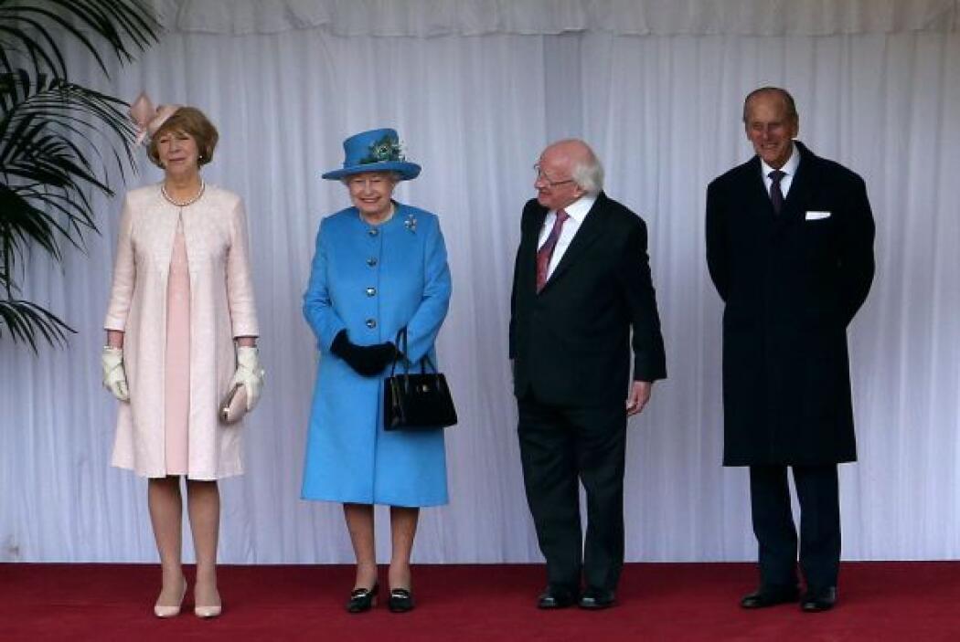 Es la primera visita oficial de un presidente irlandés desde que Irlanda...