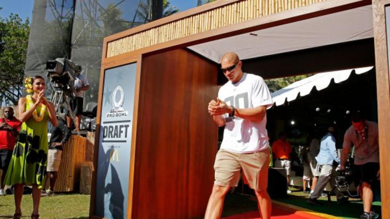 El ala cerrada se encuentra ahora en Hawaii para el Pro Bowl 2014 (AP-NFL).