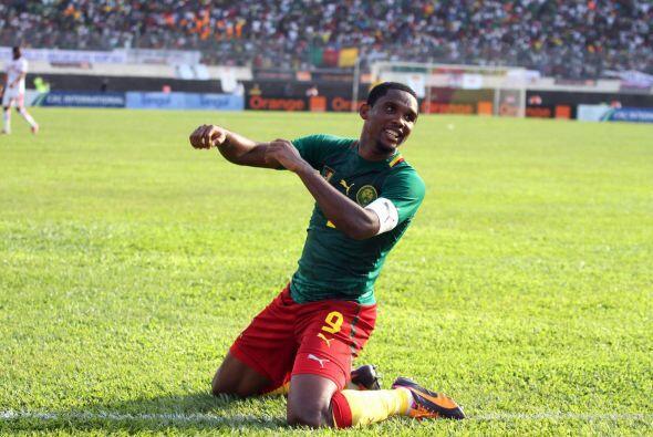 Samuel Eto'o:El delantero de Camerún es un león, porque infunde miedo a...