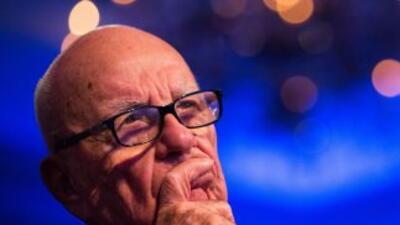 El magnateRupert Murdoch.