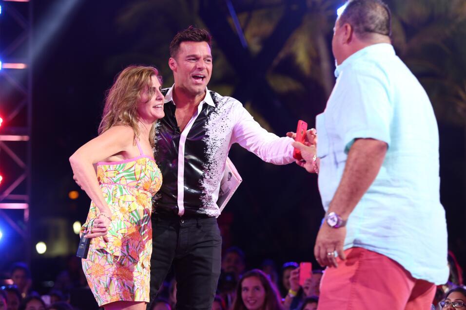 Jorge Gabriel es la intensidad andando. We loved his energy on stage!