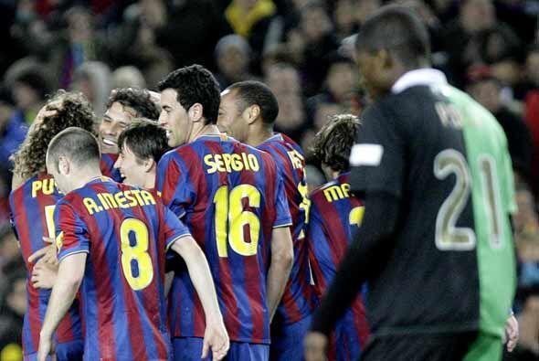 El Barcelona dejó el partido resuelto en la primera parte, pero aún qued...