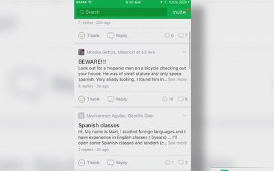 Una nueva app le advierte sobre lo último que está pasando en su barrio