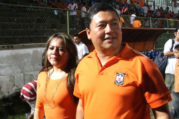 Wilfredo Salgado, Presidente del Deportivo Aguila decidió vender...