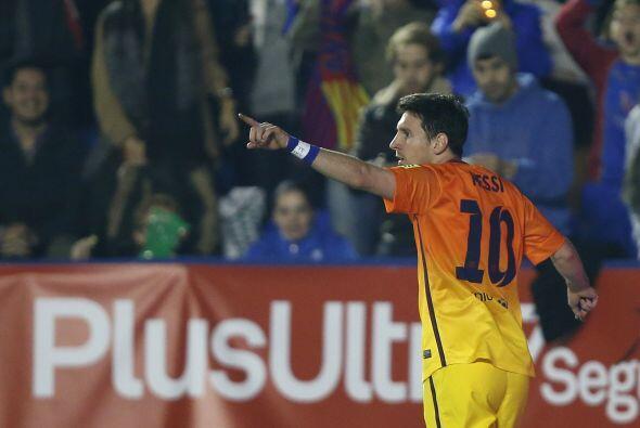 El propio Lionel puso el segundo gol casi de inmediato y acababa con las...