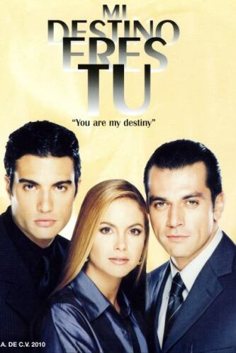 """En """"Mi Destino Eres Tú"""" (2000) Lucero compartió créditos con Jorge Salin..."""