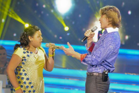 Los pequeños cantaron temas del reconocido cantautor mexicano, hi...