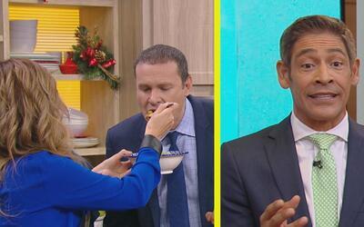 #DAEnUnMinuto: Karla le dio de comer a Alan en la boquita y Johnny está...