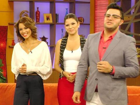 La ex Miss Universo Zuleyka Rivera llegó al programa para hablar de sus...