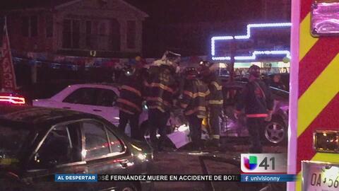 Accidente vehicular en Elizabeth deja a varios heridos
