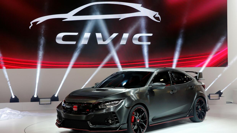 Revisarán 350,000 automóviles Honda modelo 'Civic' 2016 por posibles pro...