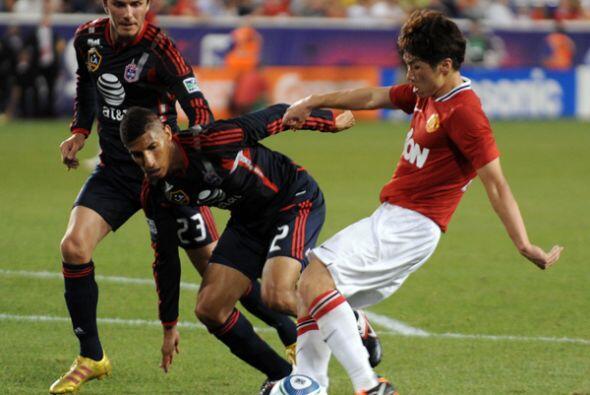 2011: MLS 0-4 Manchester United. David Beckham enfrentó al club de sus a...
