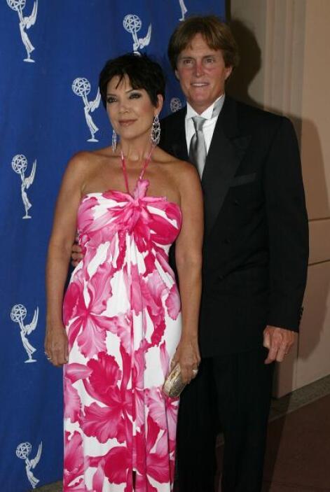 En una de las fiestas del Emmy en agosto de 2004. ¿Ella ya soñando con g...