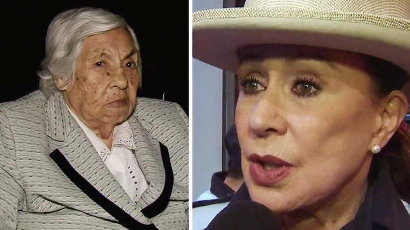 La abuelita de Thalía y Laura Zapata mañana cumple 99 años, pero dice qu...
