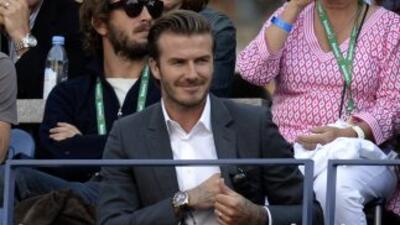 El británico David Beckham se encuentra en las negociaciones finales par...
