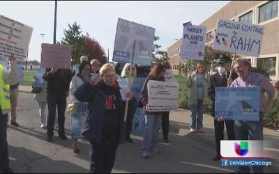 Residentes piden legislación por ruido del O'Hare