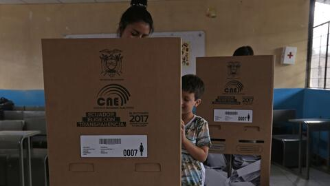 Así transcurrió el domingo de elecciones de los ecuatorianos en Quito