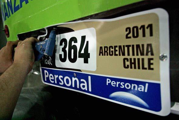 Todo quedó listo para el arranque del Rally Dakar 2011 que partir...