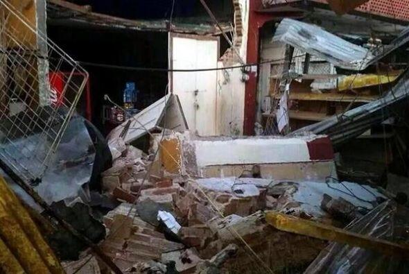 Cerca de 30 casas en Guatemala se vieron dañadas y dos personas m...