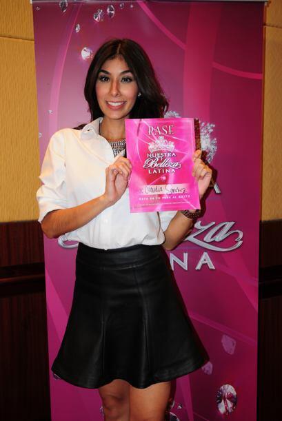Claudia Sánchez  de México, audicionó en Los Ángeles. Ella es una de bel...