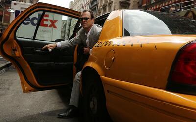 Aparentemente, se podría reducir la flota de taxis en Nueva York,...