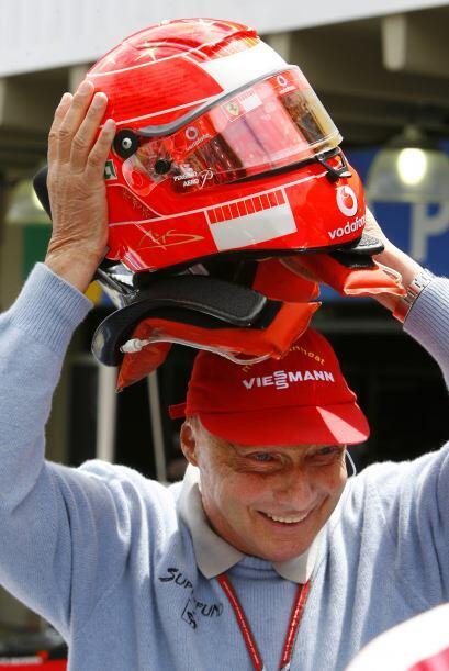 El gran Niki Lauda, admirador de Schumacher, dos pilotos que corrieron p...