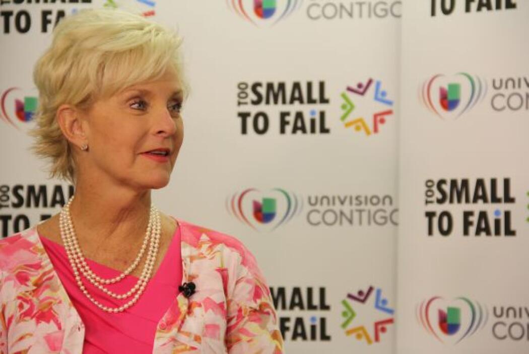 La encantadora Sra. McCain resaltó la importancia de la constancia y la...