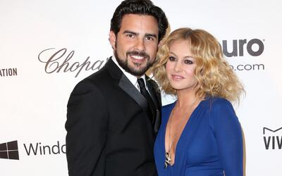 Paulina Rubio y Gerardo Bazúa: del amor a la guerra