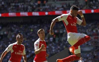 Arsenal ganó a Chelsea la Community Shield