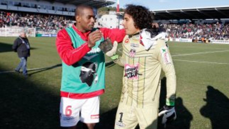 El mexicano Ochoa resultó fundamental para que el Ajaccio consiguiera la...