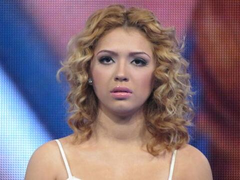 Paloma Carrasco tuvo un show muy difícil.