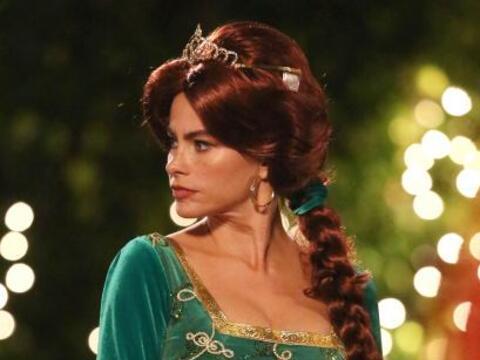 Nuestra Sofía Vergara se convirtió nada menos en Fiona, la...