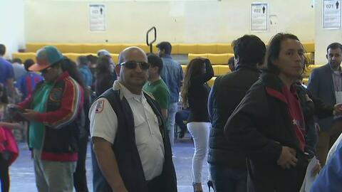 Masiva asistencia de ecuatorianos en Newark para elegir a su próximo pre...