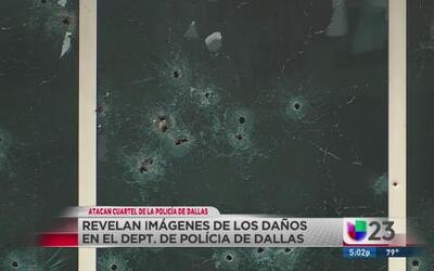 Lluvia de balas contra policía de Dallas
