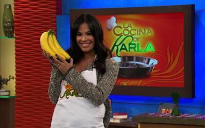 Plátanos frescos y que duran más tiempo  en nuestra cocina