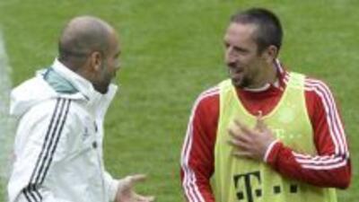 El entrenador español espera encontrar la posicion ideal para Ribéry den...