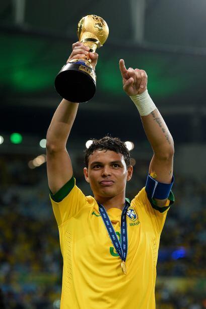 El nuevo comandante de la zaga brasileña es Thiago Silva, el futbolista...