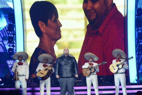 Durante la quinta gala, Ricardo recibió una llamada especial de su familia.
