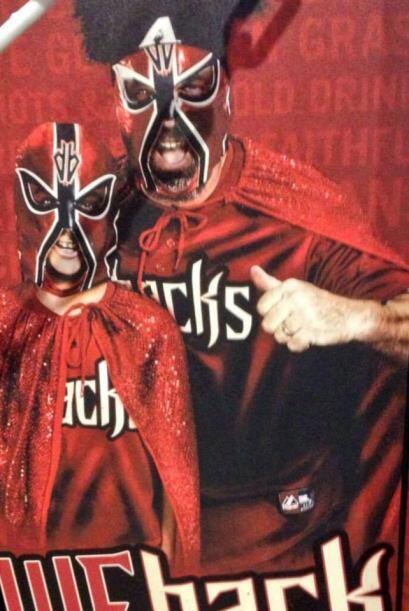 Luchadores de los Diamondbacks