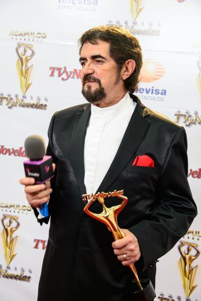 """Manuel """"Flaco"""" Ibáñez como Mejor Actor de Reparto por La Mujer del Venda..."""