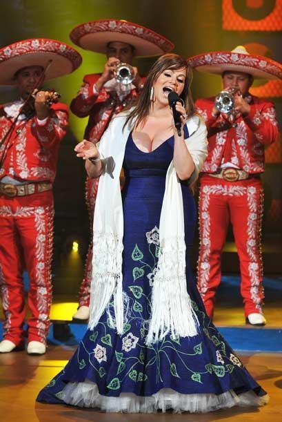 Por supuesto Jenni Rivera hizo presente su música, que la ha consolidado...