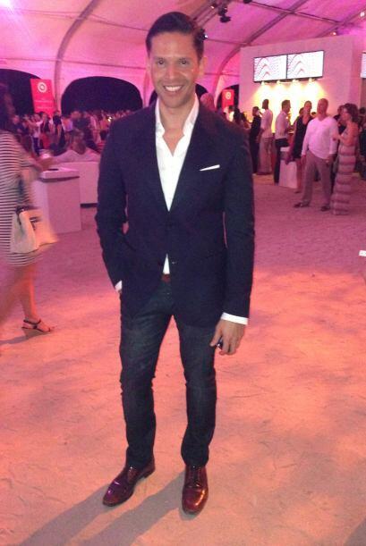 Este pasado sabado, el galan de la noche en el evento llamado Red Hot Ni...