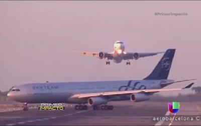 Dos aviones estuvieron a punto de estrellarse en un aeropuerto de España