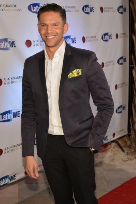 El actor chileno, Cristian de la Fuente, celebró por todo lo alto su cum...