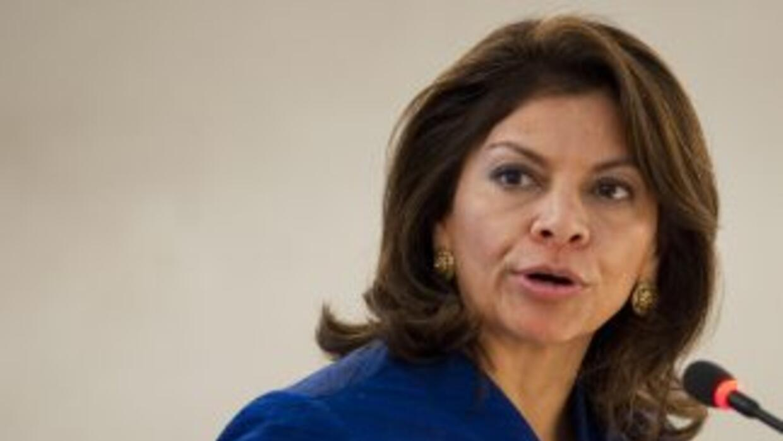 La aprobación de la presidenta de Costa Rica, Laura Chinchilla bajó un 4...
