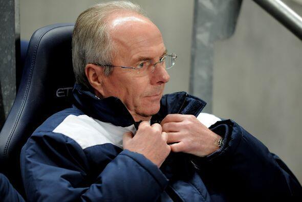 Leicester es dirigido por el sueco Sven Göran-Eriksson.